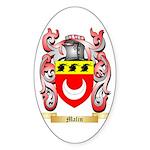 Malin Sticker (Oval 50 pk)