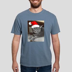 Christmas Russian Blue Ca T-Shirt