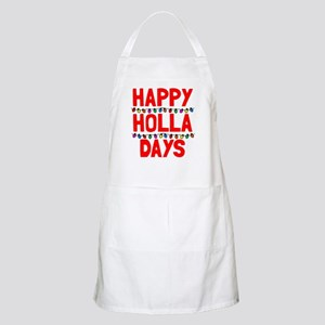 Happy holla days Apron