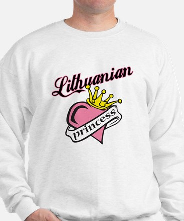 Lithuanian Princess Sweatshirt