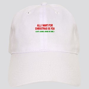All I want for Christmas Cap