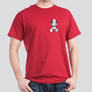KiniArt Bedlington Terrier Dark T-Shirt