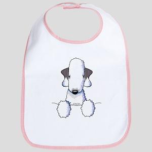 KiniArt Bedlington Terrier Bib