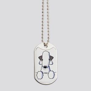 KiniArt Bedlington Terrier Dog Tags