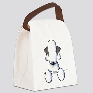 KiniArt Bedlington Terrier Canvas Lunch Bag