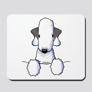 KiniArt Bedlington Terrier Mousepad
