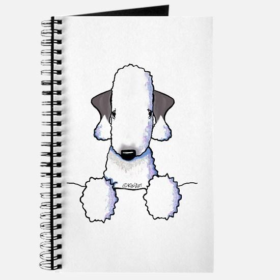 KiniArt Bedlington Terrier Journal