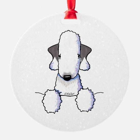 KiniArt Bedlington Terrier Ornament