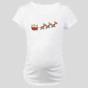 Santa Maternity T-Shirt