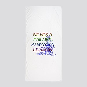 NEVER A FAILURE Beach Towel