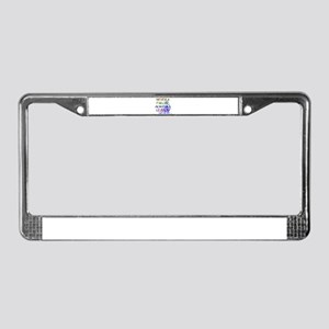 NEVER A FAILURE License Plate Frame