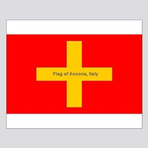 Flag of Ancona Italy Posters