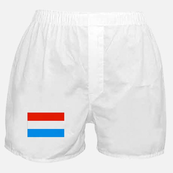Luxembourgian Flag Boxer Shorts