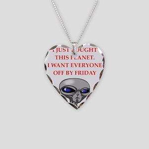 alien invasion Necklace
