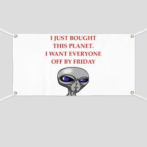 alien invasion Banner