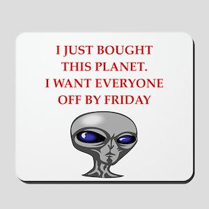 alien invasion Mousepad
