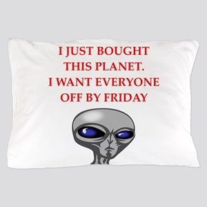 alien invasion Pillow Case