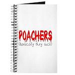 Poachers basically they suck Journal