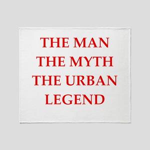 man Throw Blanket