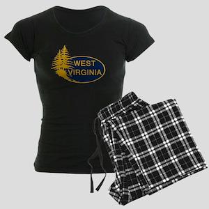 WVU Women's Dark Pajamas