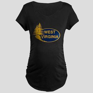 WVU Maternity T-Shirt
