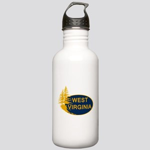 WVU Stainless Water Bottle 1.0L