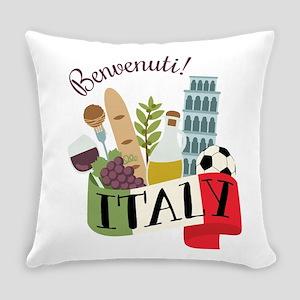 Benvenuti! Italy Everyday Pillow