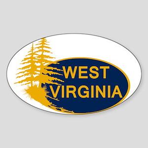 WVU Sticker