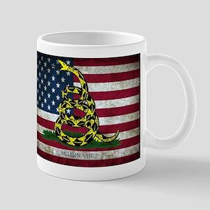 Molon Labe Flag Mugs