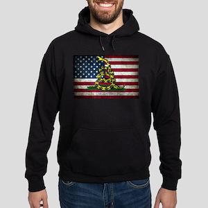 Molon Labe Flag Hoodie