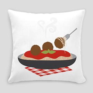 Spaghetti Everyday Pillow