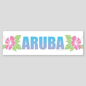 Aruba Design Bumper Sticker