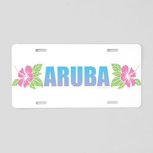 Aruba Design Aluminum License Plate