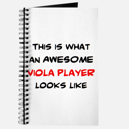 awesome viola player Journal