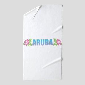 Aruba Design Beach Towel