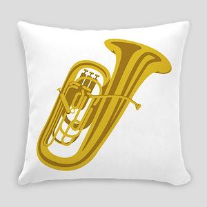 Tuba Everyday Pillow