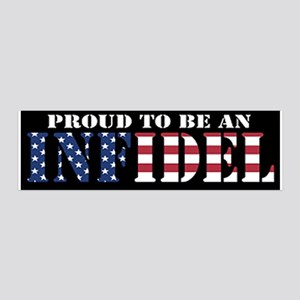 Proud to be an Infidel Wall Decal