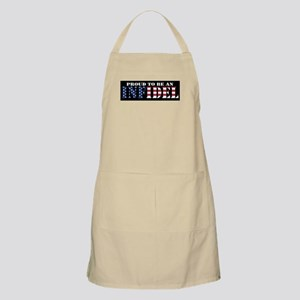 Proud to be an Infidel Apron