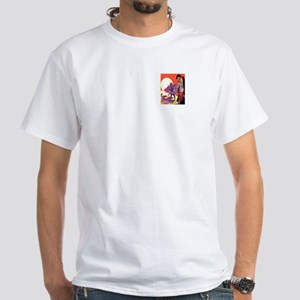 Clock Ticked White T-Shirt