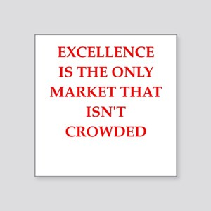 excellence Sticker