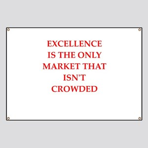 excellence Banner