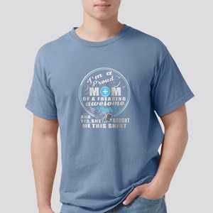 Proud Mom Of An Awesome Nurse T Shirt T-Shirt