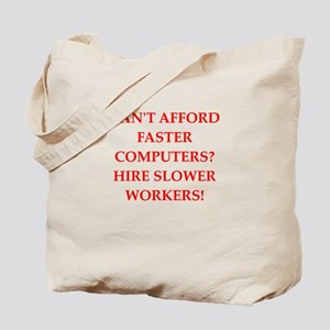 employer Tote Bag