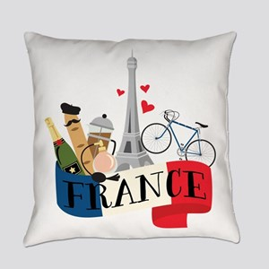 France Everyday Pillow