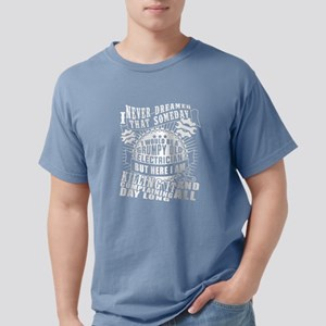 I Would Be A Grumpy Old Electrician T Shir T-Shirt