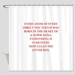 litter Shower Curtain