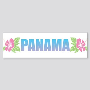 Panama Design Bumper Sticker