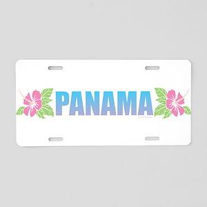 Panama Design Aluminum License Plate