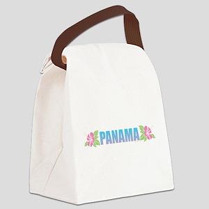 Panama Design Canvas Lunch Bag