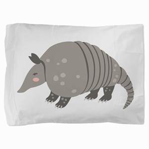 Armadillo Animal Pillow Sham